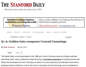 Stanford Daily headline
